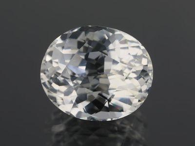 White Sapphire 10.4x8.8mm Oval (E)