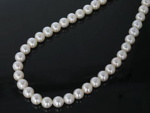 Beads F/W White Cult Pearl 8.5-9mm Roundish (C)