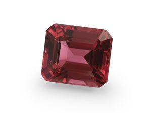 Spinel Pink Dk 6.6x5.75mm Em/c )N)
