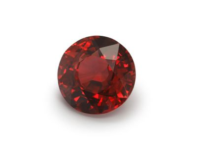Ruby (Mozambique) 6mm Round with GSL CERT (E)