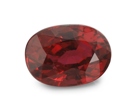 Ruby (Mozambique)   8.95x6.36mm Oval with GIA CERT (E)