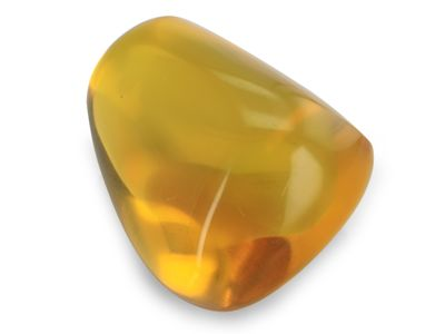 Dominican Amber 37x21mm Triangular f/form no insects (N)