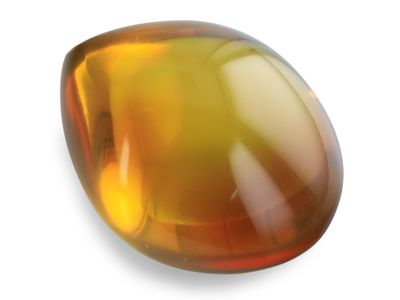 Dominican Amber 30x23mm Drop no insects (N)