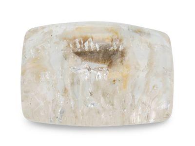 Quartz w/negative crystal inclusions 27x20mm Cushion (N)