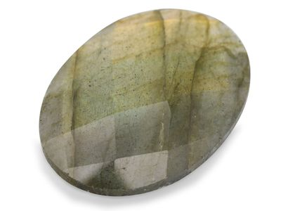Labradorite 25x18mm Oval Double Side Rose cut (N)