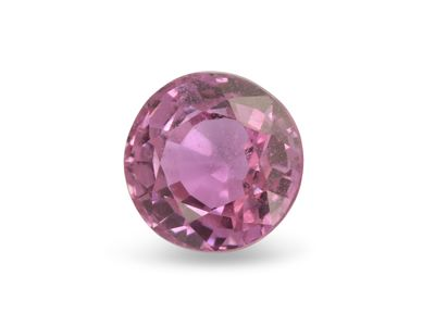 Pink Sapphire 5.5mm Round Good Pink (E)