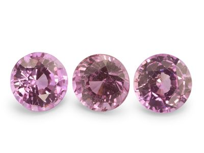 Pink Sapphire 4.75mm Round Good Pink (E)