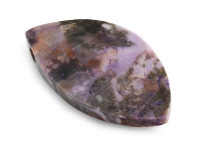 Tiffany Stone MQ Shape Pendant Side Drilled. A Grade (N)