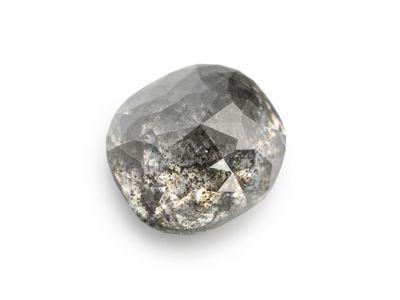 Diamond Salt & Pepper 5.6x5mm Oval (N)