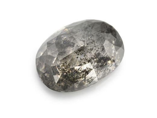 Diamond Salt & Pepper 8.5x6mm Oval (N)