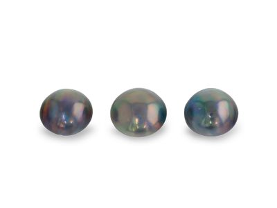 Mabe Dyed Pearl 11-12mm Round (C)