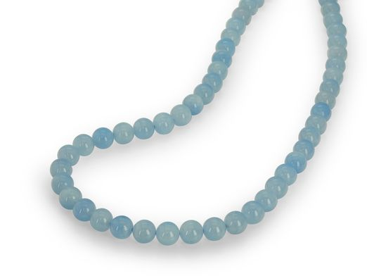 Beads Aquamarine 8mm Polished Round(N)