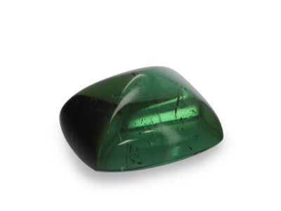 Green Tourmaline 10x8mm Barrel Cabochon (N)