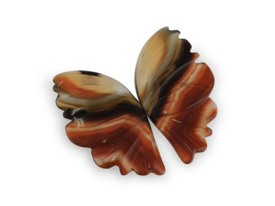 Agate Butterfly Wings Pair 20x10.5x10.5mm (N)
