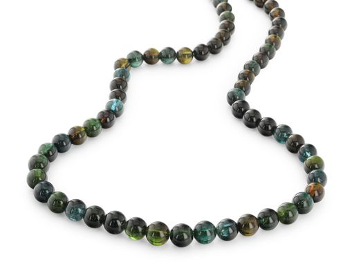 Beads Green Tourmaline 8mm Round Polished (N)