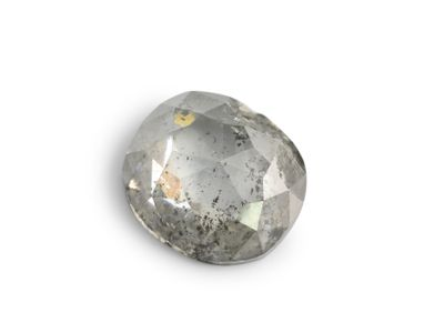 Diamond Salt & Pepper 5.8x5.3mm Oval Rose Cut (N)