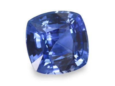 Sapphire Cey Bl 7.3mm SQ Cushion (E)