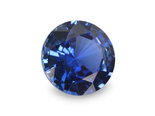 Sapphire Cey Bl 6.2mm Round (E)