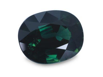 Sapphire Teal10.2x8.1mm Oval (E)
