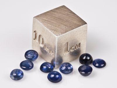 Sapphire Thai Ceylon Blue 3.25mm Round Cabochon (E)