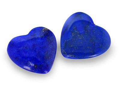 Lapis Lazuli 11-12mm Heart Polished H/D (N)