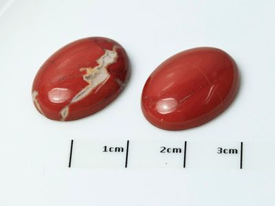 Red Jasper 20x15mm Oval Cabochon (N)