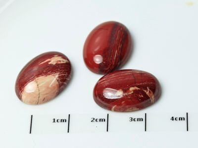 Red Jasper 18x13mm Oval Cabochon (N)