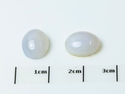 Chalcedony 9x7mm Oval Cabochon (N)