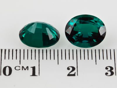 Hydrothermal Emerald 11x9mm Oval (S)
