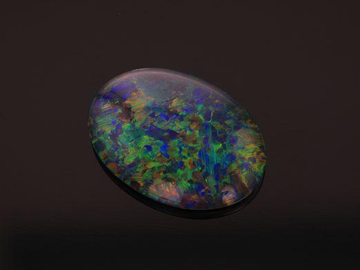 Opal Triplet 14x10mm Oval
