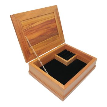 JEWELLERY BOX - RIMU - STD, BLACK