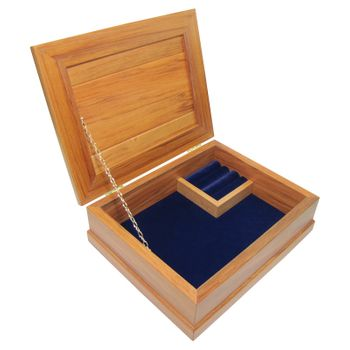 JEWELLERY BOX - RIMU - STD, ROYAL BLUE