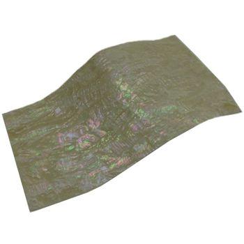 SHELL VENEER FLEXIBLE UNCOATED - KOREAN ABALONE NATURAL 230*130MM