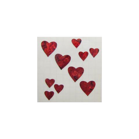 THEME PAUA - RED HEART (10PCS)