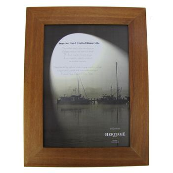 PICTURE FRAME - RIMU - A4 PLAIN PORTRAIT