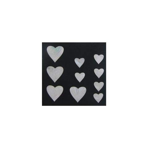 THEME PEARL - HEART (10PCS)