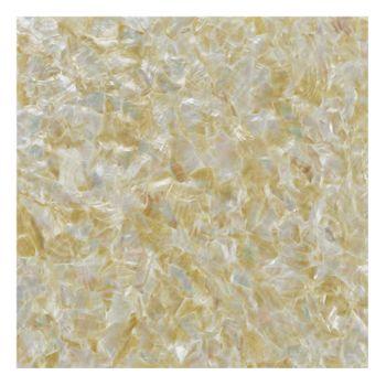 SHELL VENEER COATED - WMOP NATURAL GOLD - 300*300MM