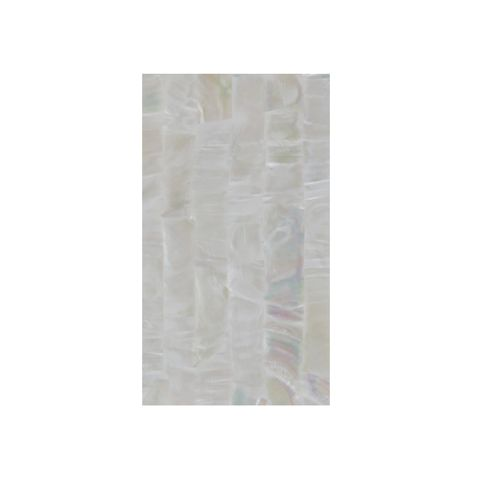 SHELL VENEER COATED - F/W MOP NATURAL STRIP - 230*130MM
