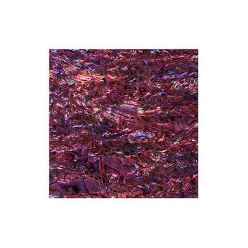 SHELL VENEER COATED - PAUA PURPLE AGATE - 200*200MM