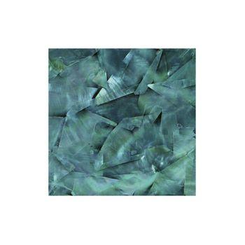 SHELL VENEER COATED - WMOP TURQUOISE GREEN - 200*200MM