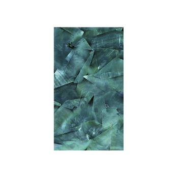 SHELL VENEER COATED - WMOP TURQUOISE GREEN - 130*230MM
