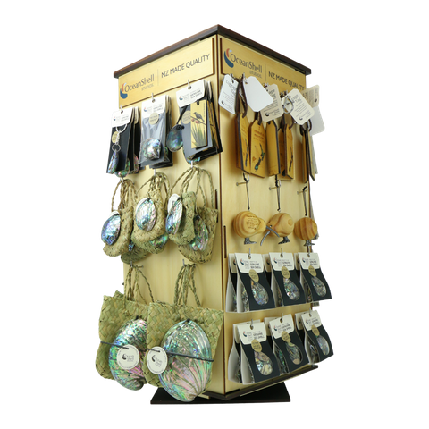 STAND - DISPLAY FULL GIFTWARE STAND (4 SIDED)
