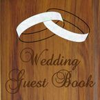 DESIGN - WEDDING GUEST BOOK - 2  WMOP RINGS