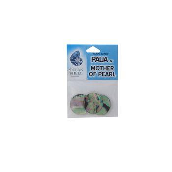 SHELL BLANK - PAUA - 25MM [40L] (3PCS)
