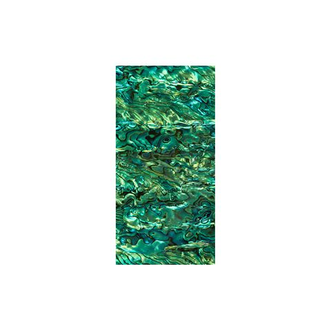 VENEER PAUA EMERALD GREEN