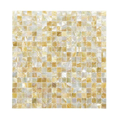 SHELL MOSAIC TILE GOLD MOP