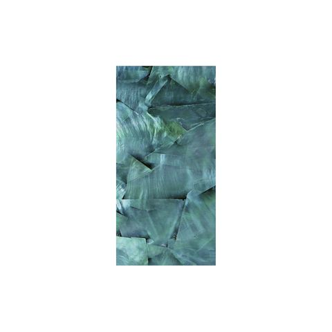 VENEER WHITE MOP TURQUOISE GREEN