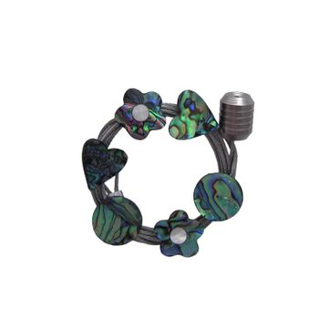MAGNET WIRE - PAUA MIXED SHAPES (6)