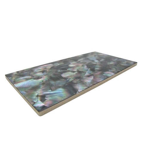SHELL VENEER TILE BLACK MOTHER OF PEARL