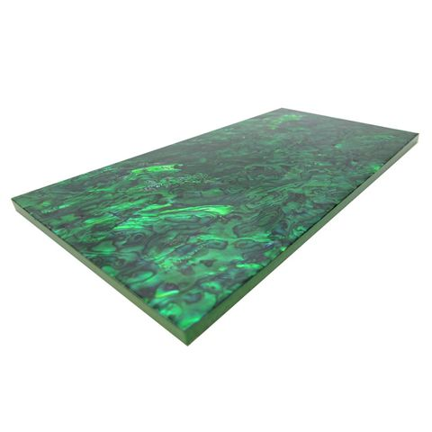 SHELL VENEER TILE PAUA EMERALD GREEN